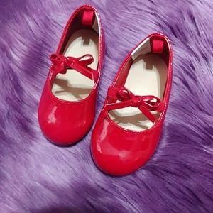 Gymboree Red Bow Detail Dress Shoe